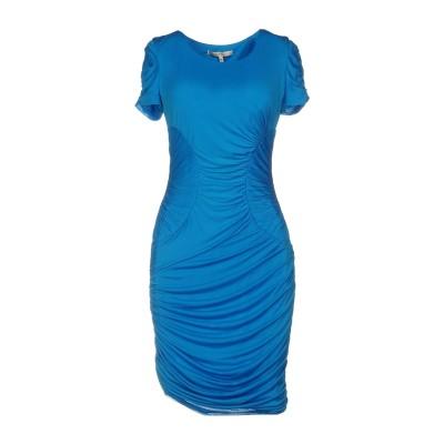 ホルストン・ヘリテージ HALSTON ミニワンピース&ドレス アジュールブルー 2 72% アセテート 28% ナイロン ミニワンピース&ドレス