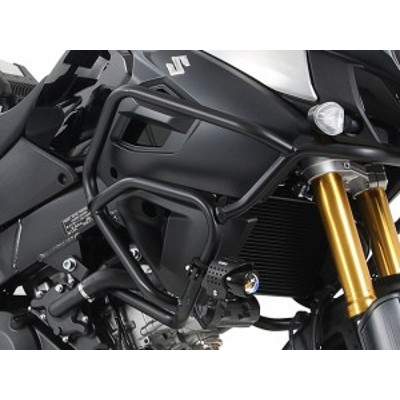 【ヘプコアンドベッカー(HEPCO&BECKER)】 タンクガード ブラック V-Strom 1000 ABS 14-16 適応