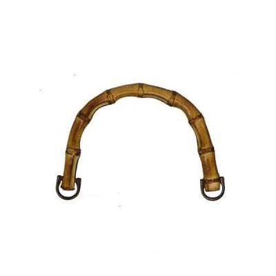 竹持ち手 手さげタイプ イナズマ BB-13 高さ約11cm×横幅約16.5cm×厚み約1.2cm 入数2本 お色選択 INAZUMA 手芸<br>