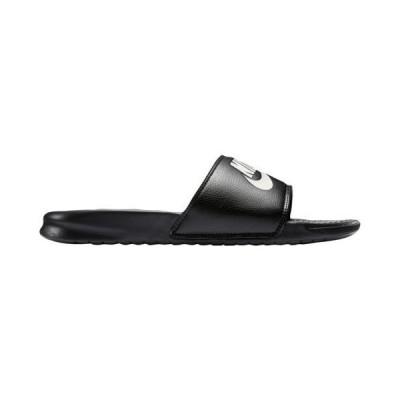 (取寄)ナイキ サンダル メンズ ベナッシ スポーツサンダル JDI スライド Nike Men's Shoes Benassi JDI Slide Black White