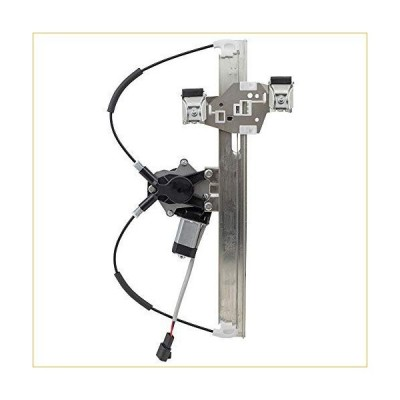 Brock Replacement Driver Rear Power Window Regulator with Lift Motor Assembly Compatible with 2004-2008 Grand Prix 15869655 並行輸入品