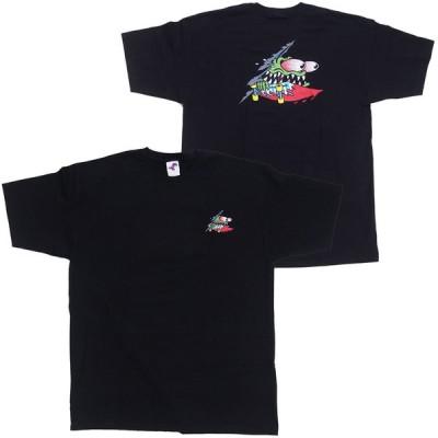 SANTA CRUZ・サンタクルーズ・SLASHED・ブラック・Tシャツ