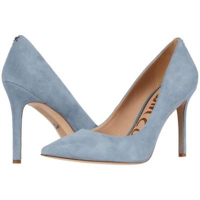 サム エデルマン Sam Edelman レディース ヒール シューズ・靴 Hazel Smokey Blue Suede Leather