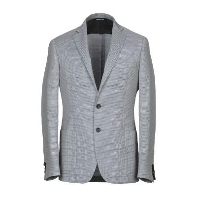 トネッロ TONELLO テーラードジャケット ブルー 52 バージンウール 55% / コットン 45% テーラードジャケット