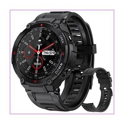 Smart Watch for Men, Waterproof Smart Watches Sports Digital Watch Bluetooth Fitness Tracker with Blood Pressure Heart Rate Blood Oxygen Sle
