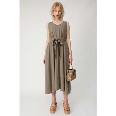 CUT FLARE LONG ドレス