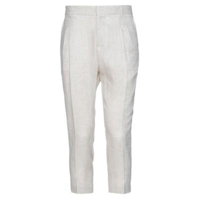 GREY DANIELE ALESSANDRINI クラシックパンツ  メンズファッション  ボトムス、パンツ  その他ボトムス、パンツ ベージュ