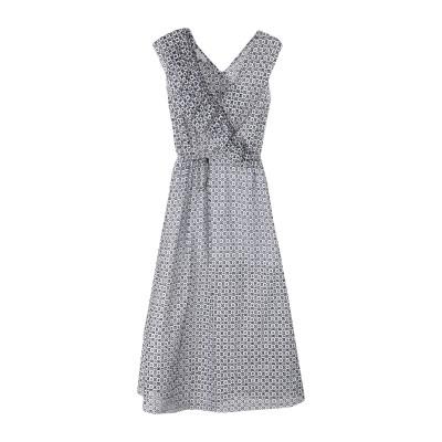GAëLLE Paris ロングワンピース&ドレス ホワイト 42 コットン 100% ロングワンピース&ドレス