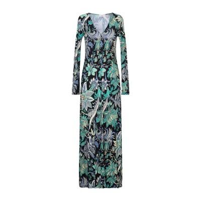 ジャッカ JUCCA ロングワンピース&ドレス ブラック 40 レーヨン 100% ロングワンピース&ドレス