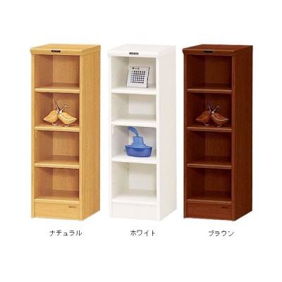 収納ボックス 幅30cm 縦長 白 ブラウン おしゃれ ラック 棚 本棚 高さ90cm