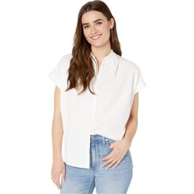 メイドウェル Madewell レディース ブラウス・シャツ トップス Central Shirt Pure White