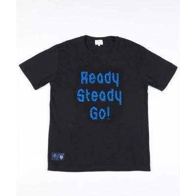 tシャツ Tシャツ 『Begin 7月号』掲載 Ready Steady Go!÷LANVIN en Bleu コラボTee(1)