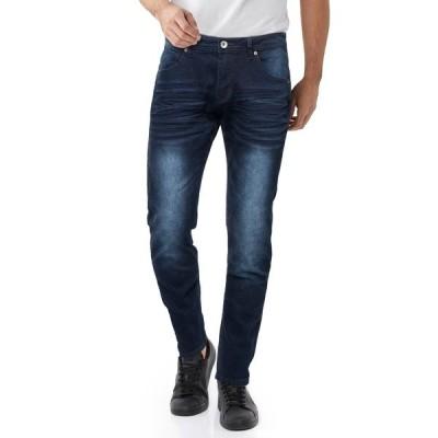 """エックスレイ メンズ デニムパンツ ボトムス Stretch 5 Pocket Skinny Jeans - 30-32"""" Inseam DARK INDIGO"""