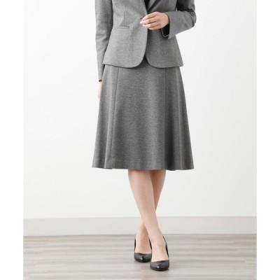 スーツ レディース 【XSサイズ〜】【LADY SKIRT】メランジポンチ スカート