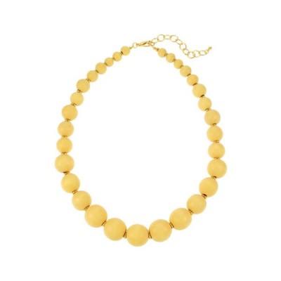 キム ロジャース レディース ネックレス・チョーカー・ペンダントトップ アクセサリー 20 Inch Blonde Bead Short Necklace