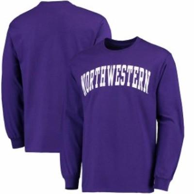 Fanatics Branded ファナティクス ブランド スポーツ用品  Fanatics Branded Northwestern Wildcats Purple Basic Arch