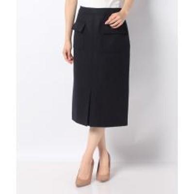 Leilian(レリアン)【特別提供品】ポケット付きタイトスカート