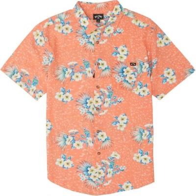 ビラボン Billabong メンズ 半袖シャツ トップス sundays floral short sleeve shirt Coral