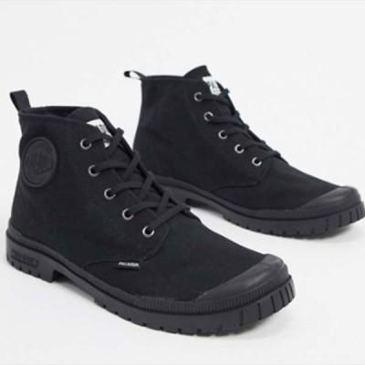 パラディウム パンパ ハイ キャンバス ブーツ ブラック 靴