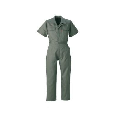 YAMATAKA(ヤマタカ) 半袖つなぎ えり付 春夏素材 yt-845 グリーン M