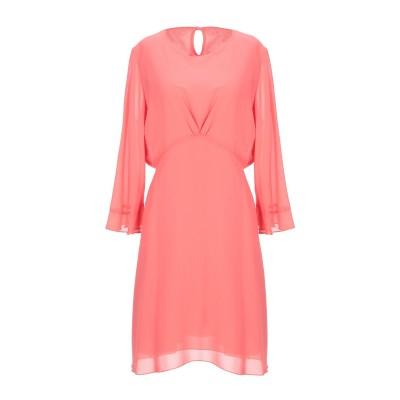 ベルナ BERNA ミニワンピース&ドレス コーラル XS ポリエステル 100% ミニワンピース&ドレス