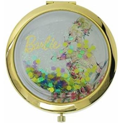 バービー[手鏡]コンパクトミラー/ハート&ラメBL Barbie SHO-BI おしゃれ キャラクター グッズ(キャラクター グッズ)