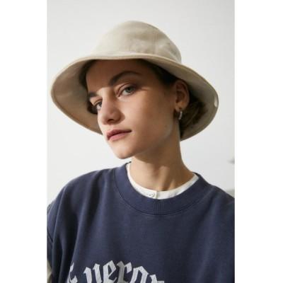帽子 ハット F/SUEDE DEEP BUCKET ハット