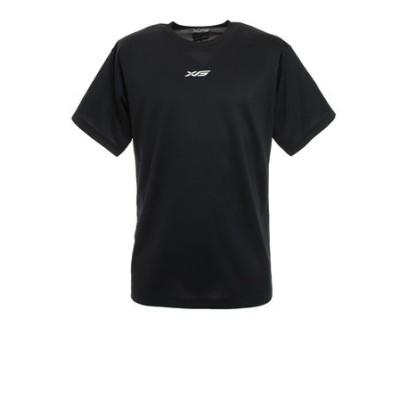 エックスティーエス(XTS)ドライプラス メッセージTシャツ 751G1ES4410 BLK