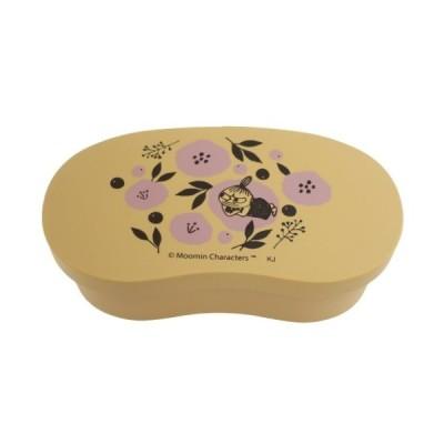 お弁当箱 曲げわっぱ風 豆型 ランチボックス ムーミン 花とリトルミイ 北欧 カミオジャパン 550ml 抗菌 食洗機対応 女の子