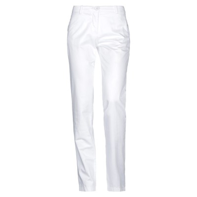 EMISPHERE パンツ ホワイト 42 コットン 100% パンツ