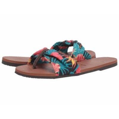 ハワイアナス レディース サンダル シューズ You Saint Tropez Sandals Rust