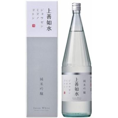 1回のご注文で6本まで  北海道 沖縄 離島除く ヤマト運輸  白瀧 上善如水 純米吟醸1.8L瓶 1本