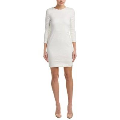 ニコルミラー レディース ワンピース トップス Nicole Miller Artelier Sheath Dress white