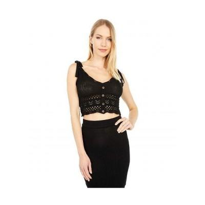 BCBGeneration ビーシービーゲネレーション レディース 女性用 ファッション セーター Sweater Pullover SB1SX5S02 - Black