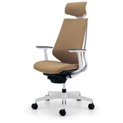 コクヨ品番 CR-GW3105E1KZ1K-WN オフィスチェア デュオラ ヘッドレスト付T型肘 樹脂脚 W710xD635xH1170