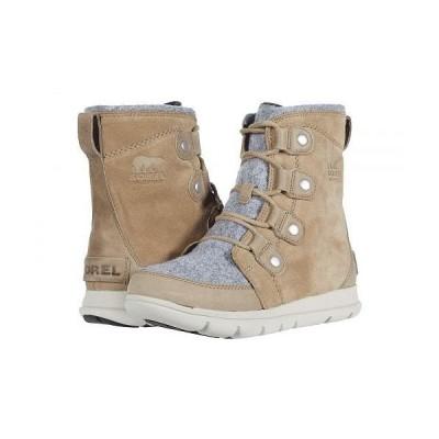 SOREL ソレル レディース 女性用 シューズ 靴 ブーツ スノーブーツ Explorer Joan - Khaki II