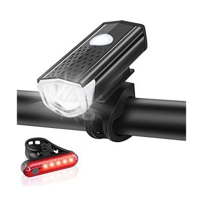自転車 ライト 自転車用ヘッドライト usb充電式 防水・IPX6 Doormoon 800ルーメン 3つ照明モード ledライト 明るい ロ