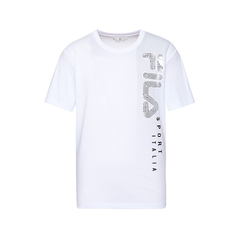 FILA 圓領T恤-白色 1TEV-1701-WT
