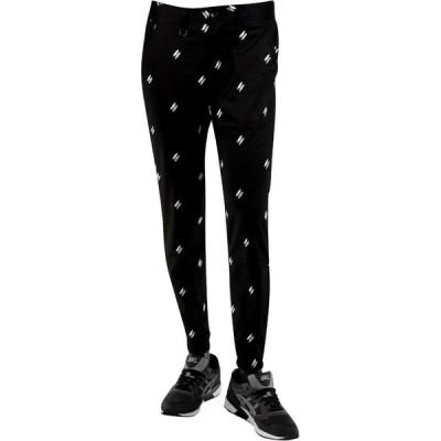 パブリッシュ Publish メンズ ジョガーパンツ ボトムス・パンツ Damian Polka Quill Twill Jogger Pants black