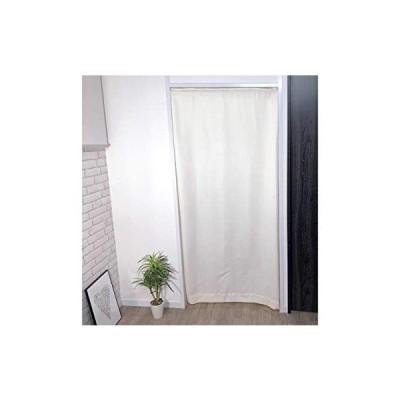 【cloth shop 布や】間仕切り カーテン パーテーション 幅 約90x丈178cm 1枚入[非遮光ワッフル:アイボリー]
