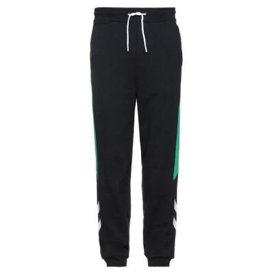 HUMMEL スウェットパンツ  メンズファッション  ジャージ、スウェット  ジャージ、スウェットパンツ ブラック