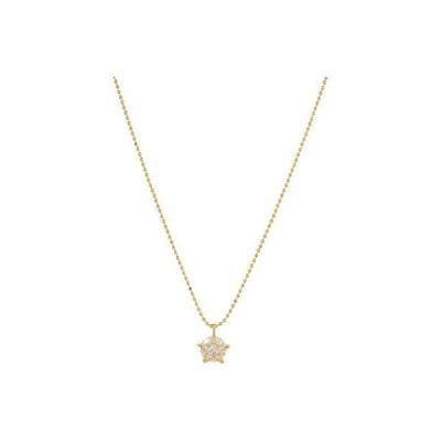 ケイトスペード Something Sparkly Star Mini Pendant Necklace レディース ネックレス Clear/Gold