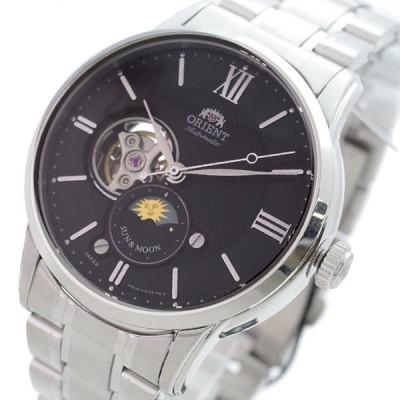 オリエント ORIENT 腕時計 メンズ RN-AS0001B 自動巻き ブラック シルバー 【国内正規】