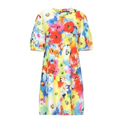 ラブ モスキーノ LOVE MOSCHINO ミニワンピース&ドレス イエロー 40 コットン 100% / ポリウレタン ミニワンピース&ドレス