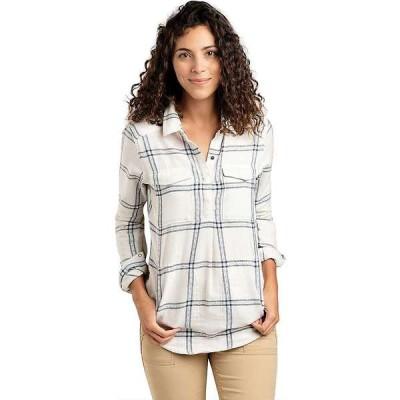 トードアンドコー レディース シャツ トップス Toad & Co Women's Cairn Popover LS Shirt