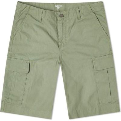 カーハート Carhartt WIP メンズ ショートパンツ カーゴ ボトムス・パンツ regular cargo short Dollar Green