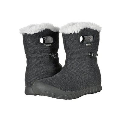 Bogs B-Moc Wool レディース ブーツ Black