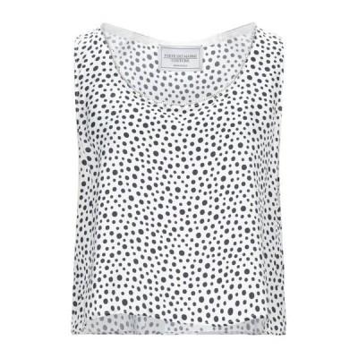 FORTE DEI MARMI COUTURE トップス  レディースファッション  トップス  Tシャツ、カットソー  半袖 ホワイト