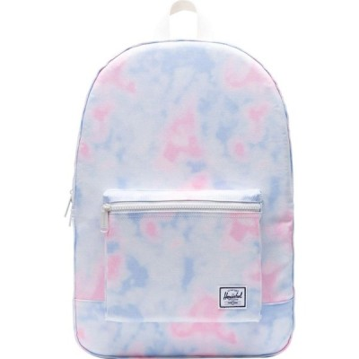 ハーシェル サプライ Herschel Supply Co. レディース バックパック・リュック デイパック バッグ Herschel Daypack Backpack Tie/Dye/Print/Blanc/De/Blanc