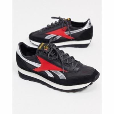 リーボック Reebok メンズ スニーカー シューズ・靴 AZ 79 trainers in black ブラック